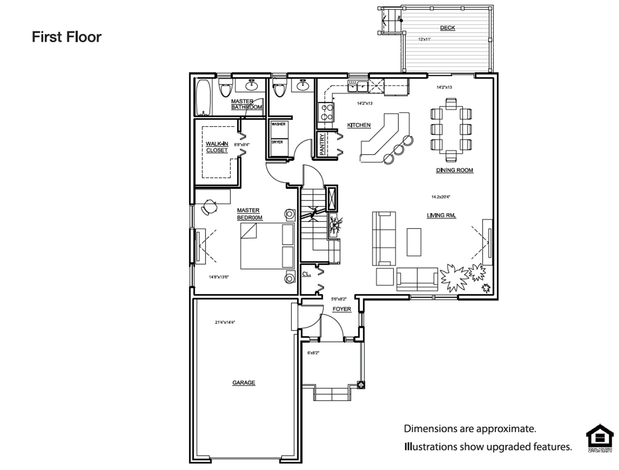 Empire First Floor Plan